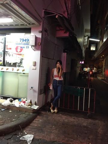 体验芭提雅红灯区不夜城:walking street