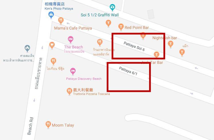 【2019年】芭提雅快餐一条街现状