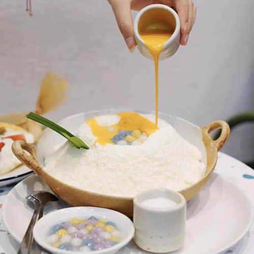 清迈美食扶墙出,神奇国度里的咸蛋黄